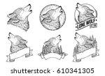Set Vector Illustrations Of A...