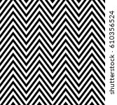 zigzag lines. jagged stripes.... | Shutterstock .eps vector #610356524