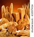 variety of bread   Shutterstock . vector #61037416