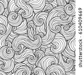 raster illustration. seamless... | Shutterstock . vector #610409669