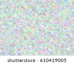 vector background from polygons ... | Shutterstock .eps vector #610419005