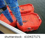Small photo of life raft