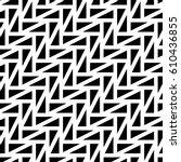 triangular blocks wallpaper.... | Shutterstock .eps vector #610436855
