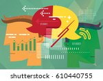 business discussions abstract   Shutterstock .eps vector #610440755