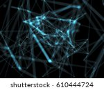 technological digital... | Shutterstock . vector #610444724