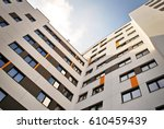 modern  luxury apartment... | Shutterstock . vector #610459439
