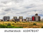 rapidly developing central... | Shutterstock . vector #610478147