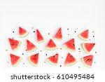 Watermelon Pattern. Sliced...
