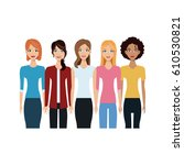 young people icon | Shutterstock .eps vector #610530821