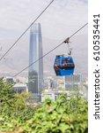santiago  chile   february 9 ... | Shutterstock . vector #610535441