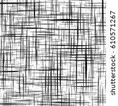 mesh  grid with irregular ... | Shutterstock .eps vector #610571267