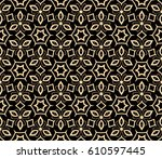 abstract repeat backdrop.... | Shutterstock .eps vector #610597445