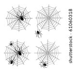 spider web | Shutterstock .eps vector #61060318