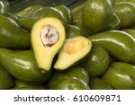 Small photo of alligator pear (avocados)