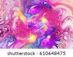 Abstract Fantasy Swirly Textur...