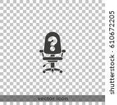 vacancy icon. | Shutterstock .eps vector #610672205