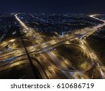 the road | Shutterstock . vector #610686719