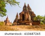 Ancient Temple In Bagan Myanmar.
