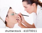 professional female makeup... | Shutterstock . vector #61070011