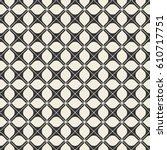 vector seamless pattern. modern ... | Shutterstock .eps vector #610717751