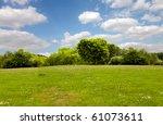 spring nature  landscape | Shutterstock . vector #61073611