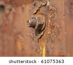 Metal Nut Rusted Under The...