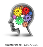 brain activity intelligence... | Shutterstock . vector #61077061