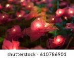flower light | Shutterstock . vector #610786901