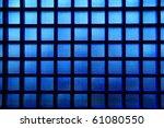 Blue Glass Pattern