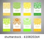 flyer  flyer  cover  pattern...   Shutterstock .eps vector #610820264