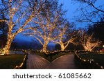 Beautiful Garden Night Scene I...