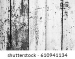 wooden texture with scratches... | Shutterstock . vector #610941134