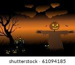vector illustration of happy... | Shutterstock .eps vector #61094185