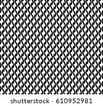 vector illustration of black... | Shutterstock .eps vector #610952981