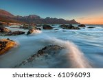 Water Collides With Coastal...