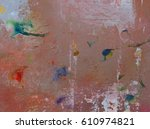 abstract background acrylic... | Shutterstock . vector #610974821