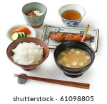 traditional japanese home... | Shutterstock . vector #61098805