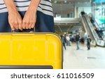 woman. | Shutterstock . vector #611016509