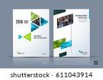 business vector template.... | Shutterstock .eps vector #611043914