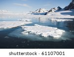 Arctic Landscape  Spitsbergen ...