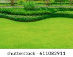 Green Lawn  Garden On The Fron...