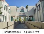 beverly hills  mar 24 ... | Shutterstock . vector #611084795