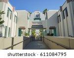 beverly hills  mar 24 ... | Shutterstock . vector #611084795