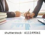 business concept. business... | Shutterstock . vector #611149061