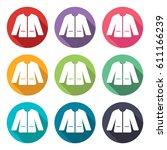 illustration icon for doctor's... | Shutterstock .eps vector #611166239