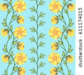 floral background.   Shutterstock .eps vector #611174015
