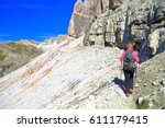 Climber Woman Approaching...