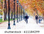 santiago  chile   may 25  a man ... | Shutterstock . vector #611184299