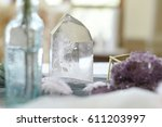 wedding decoration with ... | Shutterstock . vector #611203997