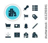 vector illustration of 12...